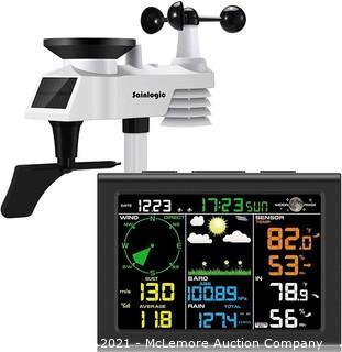 sainlogic Wireless Weather Station with Outdoor Sensor