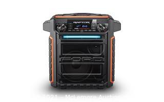 Raptor<br>Wireless Water-Resistant Speaker with Rugged Truck Styling