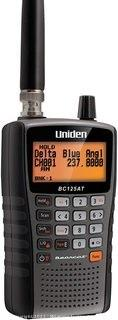 Uniden Bearcat BC125AT Handheld Scanner 500-Alpha-Tagged Channels Close Call Technology PC Programable Aviation Marine Railroad NASCAR Racing and Non-Digital Police/Fire/Public Safety.