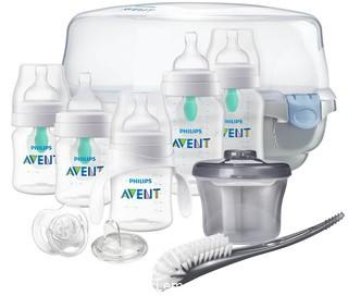 Philips Avent Anti-Colic Baby Bottle with AirFree Vent Gift Set Essentials SCD398/02
