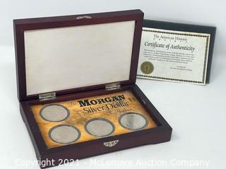 The Morgan Dollar Collection 1883-1886