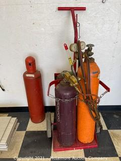 Acetylene Torch with Tanks