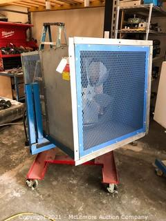 Loren Cook Company Industrial Fan on Swivel Stand and Casters