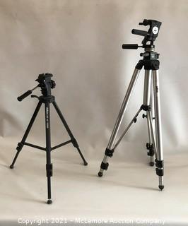 2 Photography Tripods