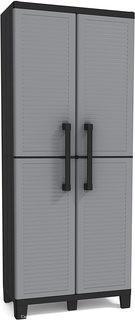 Keter Utility jumbo cabinet 34.5-in W x 70.8-in H x 17.5-in D Plastic Freestanding Garage Cabinet