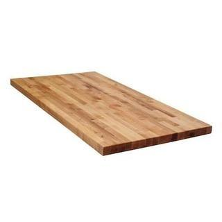 The Baltic Butcher Block Birch 6-ft Unfinished Natural Straight Butcher Block Birch Kitchen Countertop - NEW IN BOX