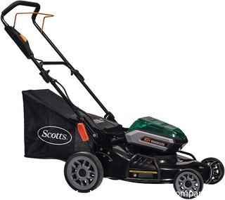 Scotts Outdoor Power Tools 62162S 21-Inch 62-Volt Cordless Lawn Mower - BATTERY NOT INCLUDED