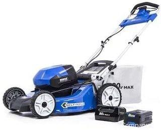 Kobalts 80-Volt Max Brushless Lithium Ion Self-propelled 21-in Cordless Electric Lawn Mower - USED & TESTED - MSRP $660.00