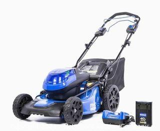 Kobalt KMP 5040-06 40-Volt Brushless Lithium Ion 20-in Self-Propelled Cordless Electric Lawn Mower - USED & TESTED