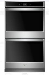 Whirlpool 30 Inch Smart Double Oven with 10.0 cu. ft. Total Capacity Touchscreen MSRP:$2200  NEW IN BOX