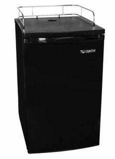Edgestar 20 Inch Wide Kegerator and Keg Beer Cooler for Full Size Kegs Black MSRP:$599  NEW IN BOX