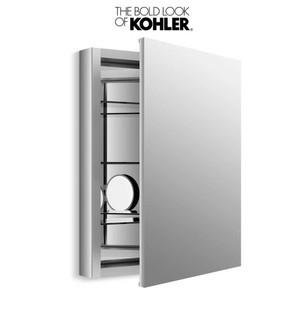 """Kohler Verdera Collection 24"""" x 30"""" Mirrored Medicine Cabinet with Adjustable Magnifying Mirror and Slow Close Door<br>Model:K-99007-NA MSRP:$440"""