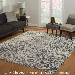 Nautica Area Rug - Gray Tone - Rug Size : 7 ft. 10 in. x 10 ft. - Brand New