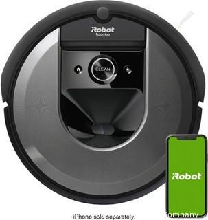 iRobot - Roomba i7 Wi-Fi Connected Robot Vacuum - Charcoal
