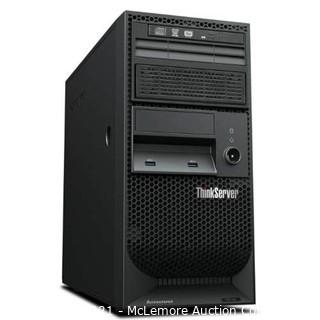 Lenovo ThinkServer TS140 70A4001MUX 5U Tower Server - 1 x Intel Xeon E3-1225 v3 Quad-core (4 Core) 3.20 GHz - MSRP $699.99