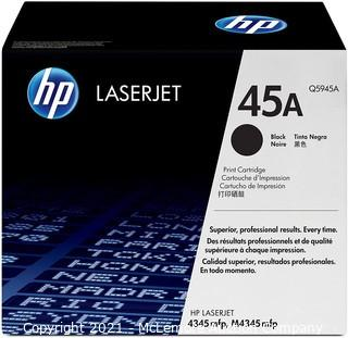 HP 45A | Q5945A | Toner Cartridge | Black - SEALED - MSRP $281.99