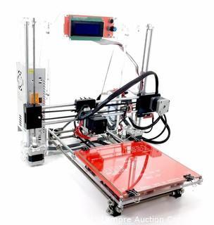 RepRap Prusa I3 3D Printer Set V2 with US Company Molded Plastic Parts - NEW