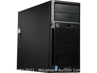 HP ProLiant ML10 v2 Tower Server System i3-4150 3.5 GHz 4 GB RAM