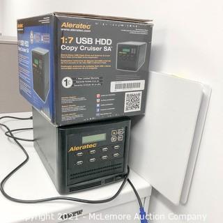Aleratec 1:7 USB HDD Copy Cruiser SA USB Flash Drive and HDD Duplicator