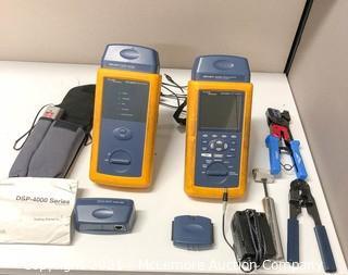 Fluke DSP-4000 Cable Analyzer Kit