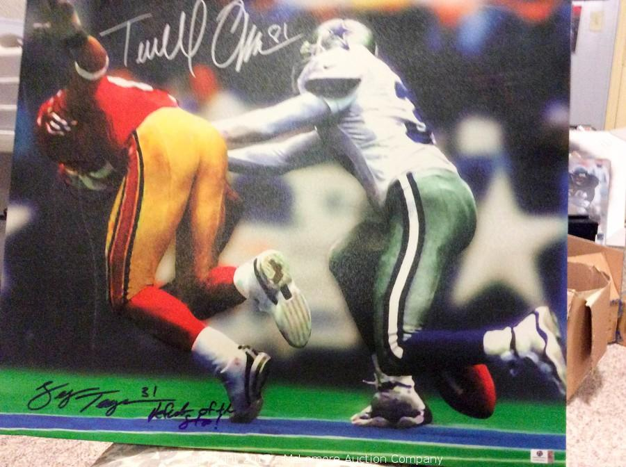 premium selection f6929 e0fa1 McLemore Auction Company - Auction: Signed Sports and ...