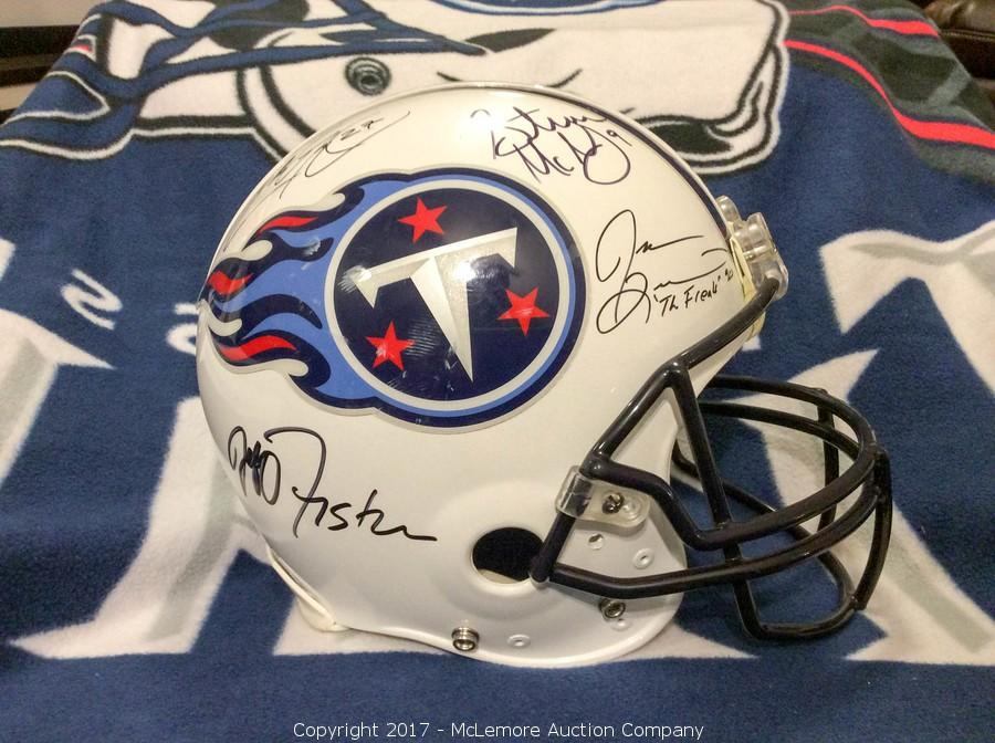 premium selection 67a33 d0322 McLemore Auction Company - Auction: Signed Sports and ...