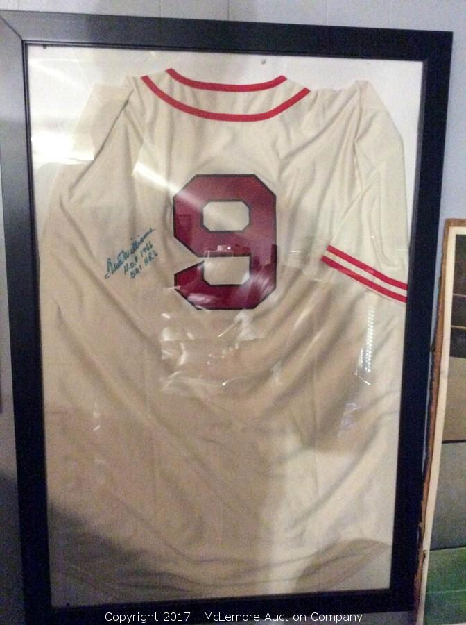 premium selection 04bd9 7c112 McLemore Auction Company - Auction: Signed Sports and ...