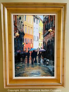 Framed Oil Painting by Creason Clayton