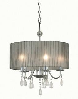 Kenroy Home Arpeggio 5 Light 20 inch Chrome Pendant Ceiling Light
