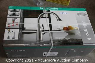 Allegro E Gourmet HighArc Kitchen Faucet, 2-Spray Pull-Down, 1.75 GPM MSRP $799