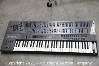 Roland JD-800 Synthesizer - Tested - See notes