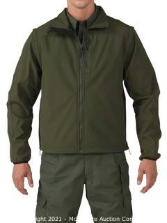 5.11 Tactical Men's Valiant Duty Jacket  Style 48153  Sheriff Green  Large