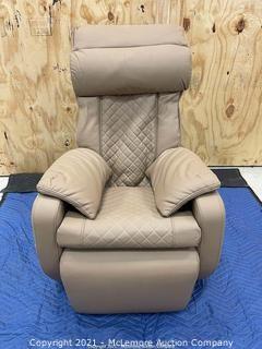 InstaShiatsu+ MC-2100 Massage Chair Zero Gravity (Tan)