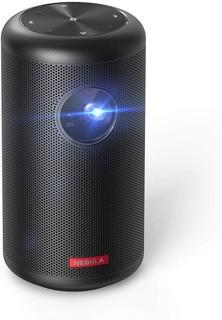 Nebula Capsule II Smart Mini Projector.   by Anker.   200 ANSI Lumen 720p HD Portable Projector with Wi-Fi.   DLP.   Android TV 9.0.   8W Speaker.   100� Image.   5.  000+ Apps.   Movie Projector.   Home Entertainment