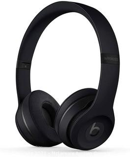 Beats Solo3 Wireless On-Ear Headphones - Apple W1 Headphone Chip.   Class 1 Bluetooth.   40 Hours of Listening Time.   Built-in Microphone - Black
