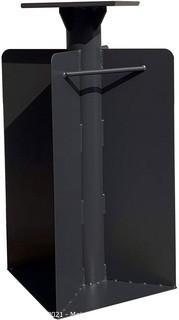 "PURPLE LEAF Offset Patio Umbrella Base In Ground.  21.65""(H) X 15.75""(W) X 15.75''(D)"