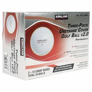 Kirkland Signature 3-piece V2.0 Urethane Cover Golf Ball.  2-dozen- New
