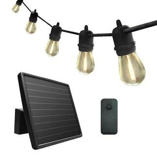 Sunforce 35' Solar String Lights with Remote Control - New Open Box