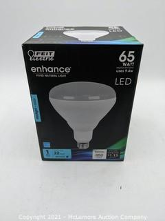 Feit Electric 65w BR40 Vivid Natural Daylight 5000K 4-Count