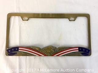 American Eagle License Plate Frame