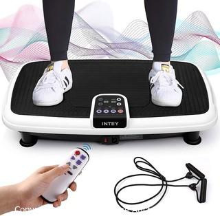 INTEY Vibration Plate Exercise Machine. 6 in 1 Multifunction Vibration Fitness Platform. Quiet Non Slip. 20 Speed Levels Equivalent to 99 Speed Levels
