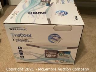 Therapedic® Tru-Cool® 3-Inch Twin Serene Foam® Performance Mattress Topper MSRP $249.99