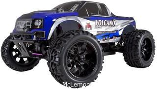 Redcat Racing Volcano EPX Electric Truck.  Blue/Silver.  1/10 Scale Parts Verified