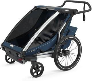 Thule Chariot Cross Multisport Trailer & Stroller-Majolica Blue