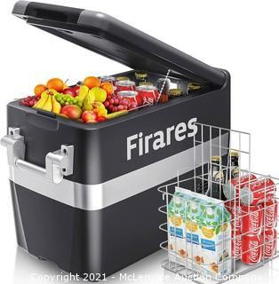 Firares 12 Volt RV Refrigerator Electric Compressor Car Freezer 42 Quart