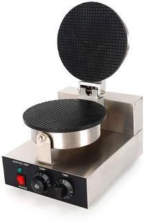 DNYSYSJ Ice Cream Crust Machine Ice Cream Cone Maker Electric Baking Pan Waffle Irons Egg Roll Maker 110V Parts Verified