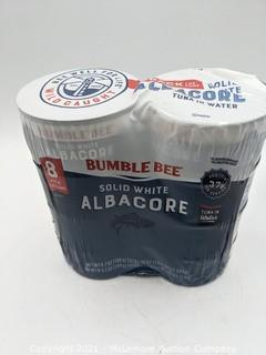 Bumble Bee Solid White Albacore 8 Cans