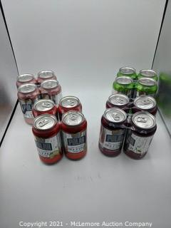 Polar 100 % Natural Seltzers 30 Count Lime - Ruby Red Grapefruit - Cranberry Lime - Black Cherry