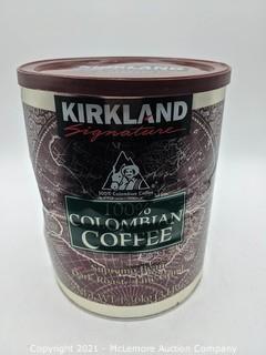 Kirkland Signature 100% Colombian Dark Roast Fine Grind Coffee - 3lb!