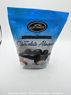 Klein's Delights Dark Chocolate Almonds 32 oz.